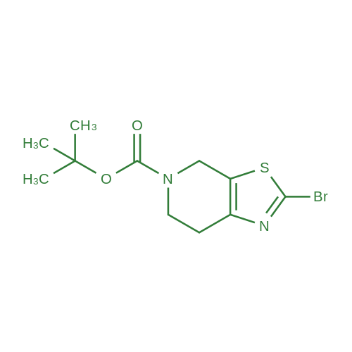 tert-Butyl 2-bromo-6,7-dihydrothiazolo[5,4-c]pyridine-5(4H)-carboxylate