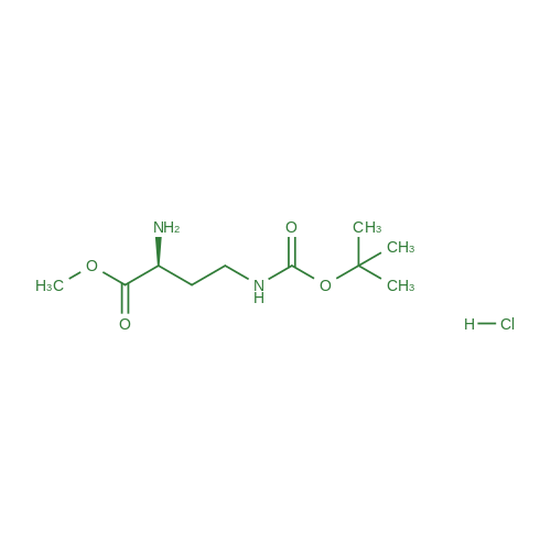 (S)-Methyl 2-amino-4-((tert-butoxycarbonyl)amino)butanoate hydrochloride