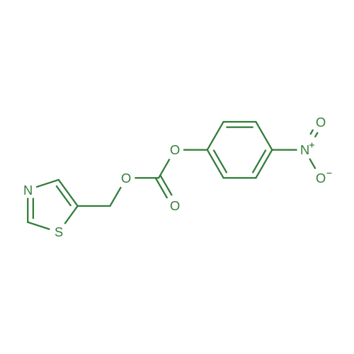4-Nitrophenyl (thiazol-5-ylmethyl) carbonate