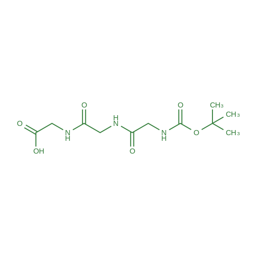 2,2-Dimethyl-4,7,10-trioxo-3-oxa-5,8,11-triazatridecan-13-oic acid