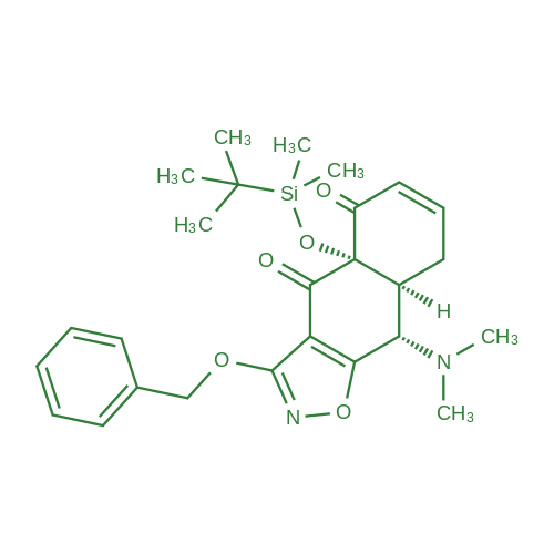 (4AS,8aS,9S)-3-(benzyloxy)-4a-((tert-butyldimethylsilyl)oxy)-9-(dimethylamino)-8a,9-dihydronaphtho[2,3-d]isoxazole-4,5(4aH,8H)-dione