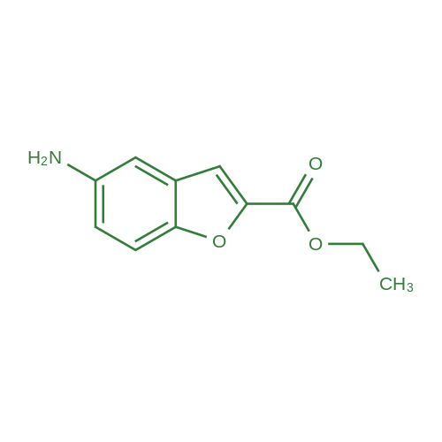 Ethyl 5-aminobenzofuran-2-carboxylate