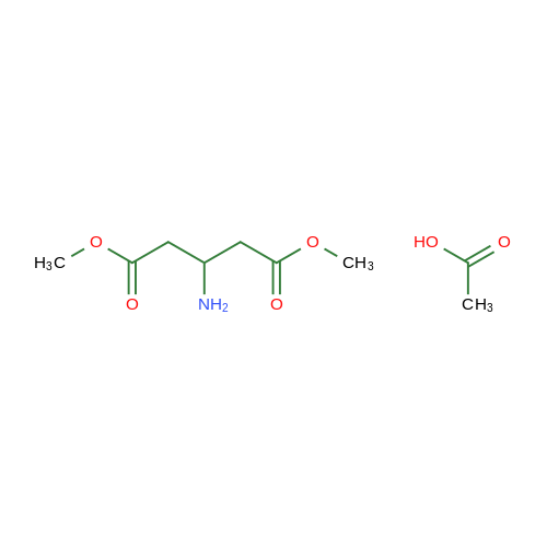 Dimethyl 3-aminopentanedioate acetate