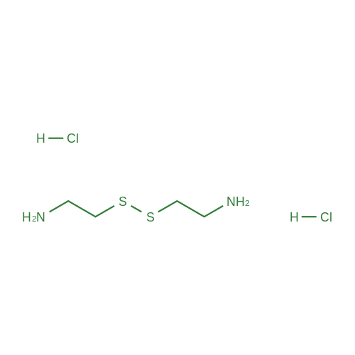 2,2'-Disulfanediyldiethanamine dihydrochloride