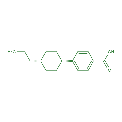 4-(trans-4-n-Propylcyclohexyl)benzoic acid