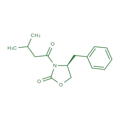 (S)-4-Benzyl-3-(3-methylbutanoyl)oxazolidin-2-one