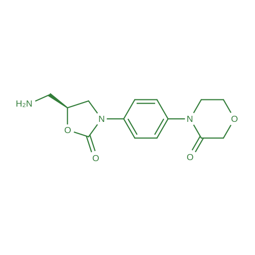 (S)-4-(4-(5-(Aminomethyl)-2-oxooxazolidin-3-yl)phenyl)morpholin-3-one