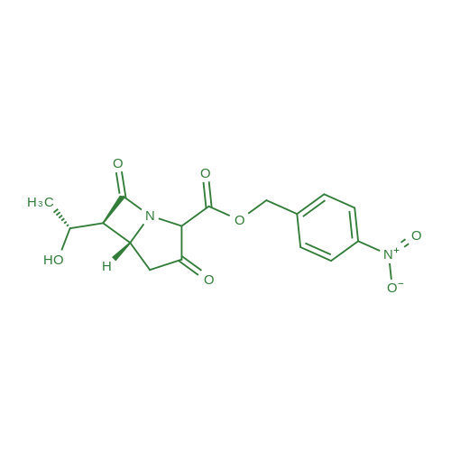 (5R,6S)-4-Nitrobenzyl 6-((R)-1-hydroxyethyl)-3,7-dioxo-1-azabicyclo[3.2.0]heptane-2-carboxylate