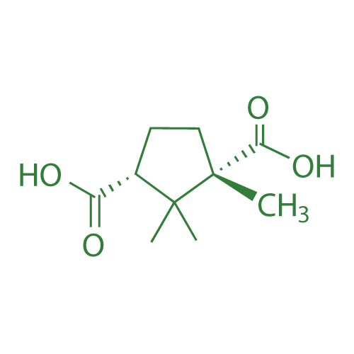 (1S,3R)-1,2,2-Trimethylcyclopentane-1,3-dicarboxylic acid