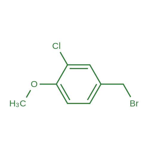 4-(Bromomethyl)-2-chloro-1-methoxybenzene