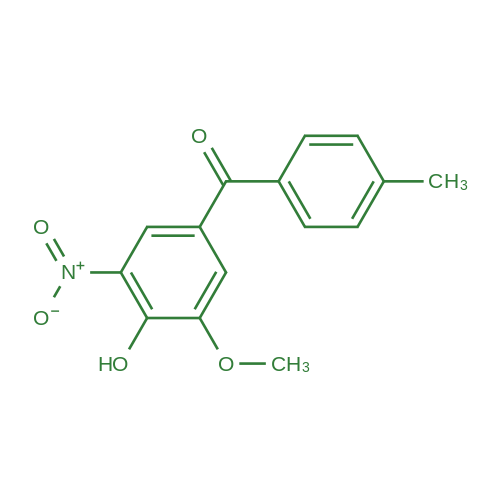 (4-Hydroxy-3-methoxy-5-nitrophenyl)(p-tolyl)methanone