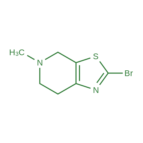 2-Bromo-5-methyl-4,5,6,7-tetrahydrothiazolo[5,4-c]pyridine