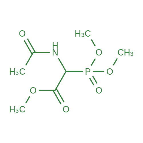 Methyl 2-acetamido-2-(dimethoxyphosphoryl)acetate