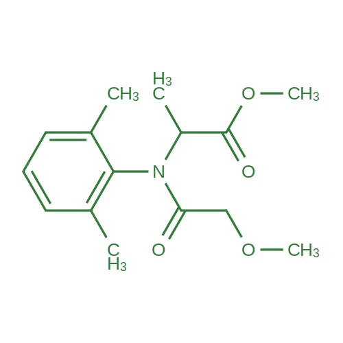Methyl 2-(N-(2,6-dimethylphenyl)-2-methoxyacetamido)propanoate