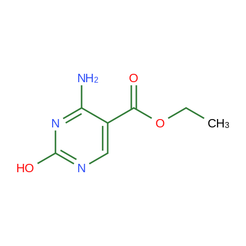 Ethyl 4-amino-2-hydroxypyrimidine-5-carboxylate