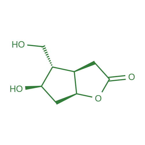 (3aR,4S,5R,6aS)-5-Hydroxy-4-(hydroxymethyl)hexahydro-2H-cyclopenta[b]furan-2-one