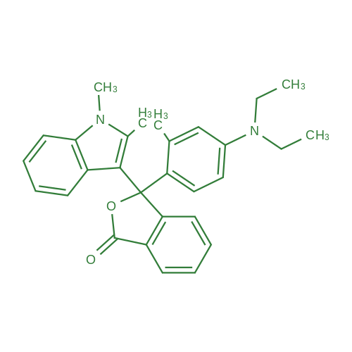 3-(4-(Diethylamino)-2-methylphenyl)-3-(1,2-dimethyl-1H-indol-3-yl)isobenzofuran-1(3H)-one