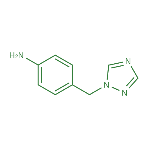 4-((1H-1,2,4-Triazol-1-yl)methyl)aniline