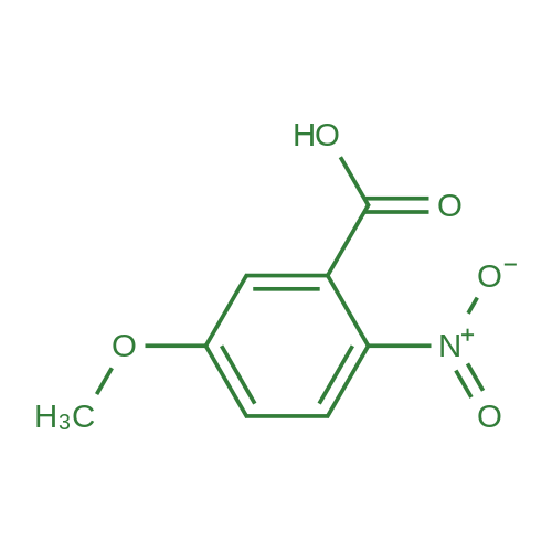5-Methoxy-2-nitrobenzoic acid