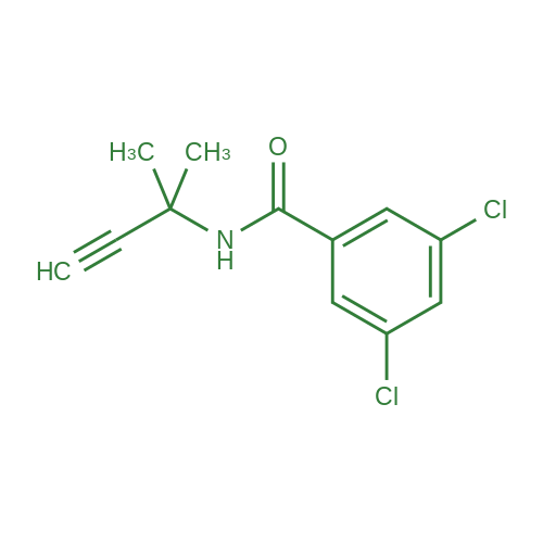 3,5-Dichloro-N-(1,1-dimethylpropynyl)benzamide