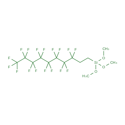 (3,3,4,4,5,5,6,6,7,7,8,8,9,9,10,10,10-Heptadecafluorodecyl)trimethoxysilane