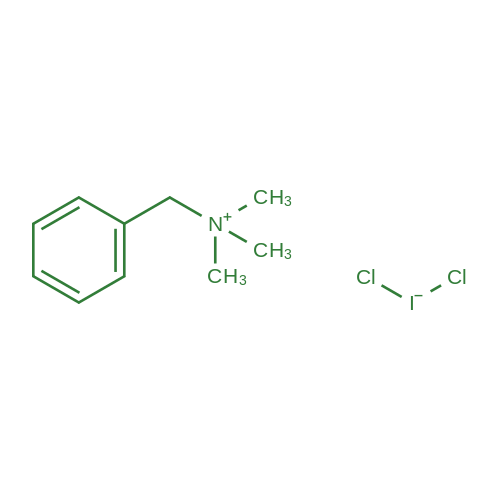 Benzyltrimethylammonium dichloroiodate