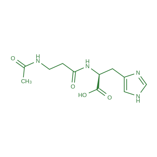 (S)-2-(3-Acetamidopropanamido)-3-(1H-imidazol-4-yl)propanoic acid