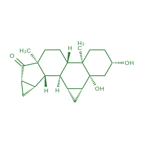 (2S,4aR,4bS,6aS,7aS,8aS,8bS,8cR,8dR,9aR,9bR)-2,9b-Dihydroxy-4a,6a-dimethylhexadecahydro-1H-cyclopropa[4,5]cyclopenta[1,2-a]cyclopropa[l]phenanthren-7(7aH)-one