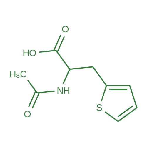 2-Acetamido-3-(thiophen-2-yl)propanoic acid