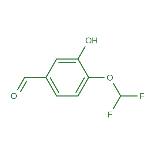 4-Difluoromethoxy-3-hydroxybenzaldehyde
