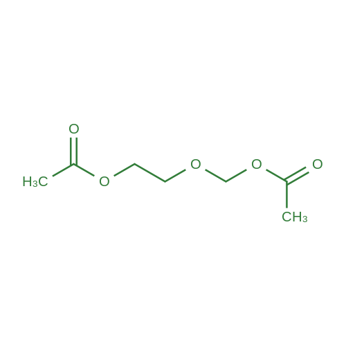 (2-Acetoxyethoxy)methyl acetate
