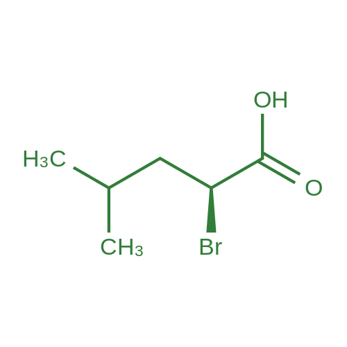 (S)-2-Bromo-4-methylpentanoic acid