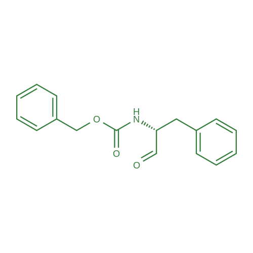 (R)-Benzyl (1-oxo-3-phenylpropan-2-yl)carbamate
