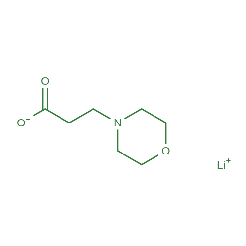 Lithium 3-morpholinopropanoate
