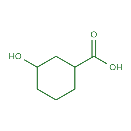 3-Hydroxycyclohexanecarboxylic acid