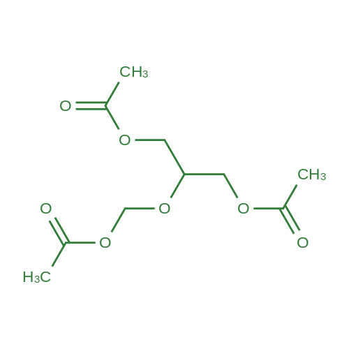 2-(Acetoxymethoxy)propane-1,3-diyl diacetate