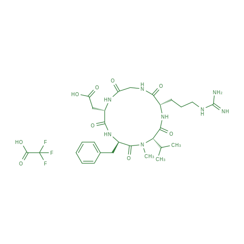 Cilengitide trifluoroacetate