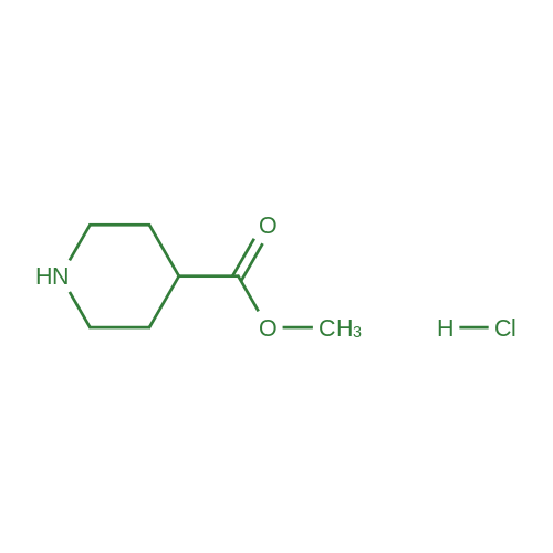 Methyl piperidine-4-carboxylate hydrochloride
