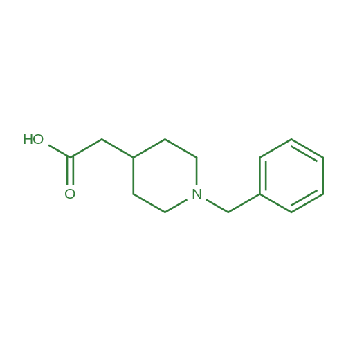 2-(1-Benzylpiperidin-4-yl)acetic acid