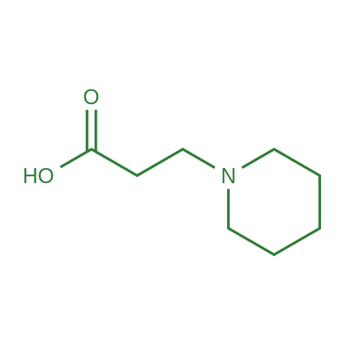 3-(Piperidin-1-yl)propanoic acid