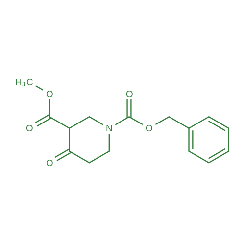 1-Benzyl 3-methyl 4-oxopiperidine-1,3-dicarboxylate