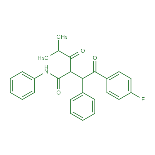 2-(2-(4-Fluorophenyl)-2-oxo-1-phenylethyl)-4-methyl-3-oxo-N-phenylpentanamide