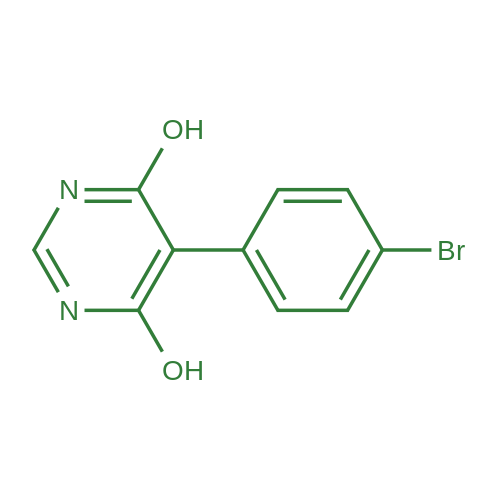 5-(4-Bromophenyl)-6-hydroxypyrimidin-4(1H)-one
